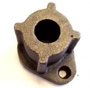 "Cast Spring Anchor to suit 1"" steel shaft - c/w flanges to support spring"